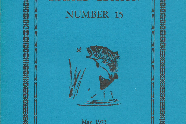 Limited Edition - Number 15, May 1973 - Front Cover