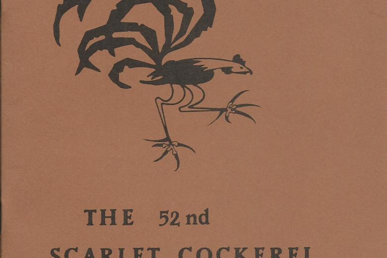 The Scarlet Cockerel - Number 52, April 1971 - Front Cover