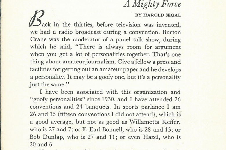 Campane - Number 67, October 1971 - Page 1