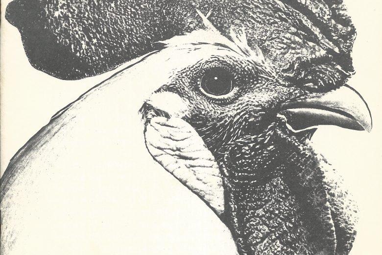 The Scarlet Cockerel - Number 54, September 1972 - Front Cover