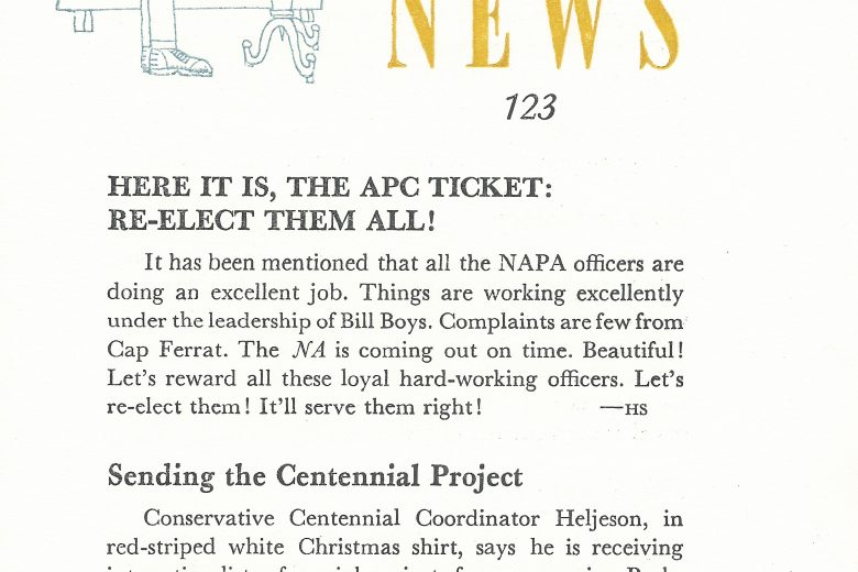 APC News - Number 123 - Page 1