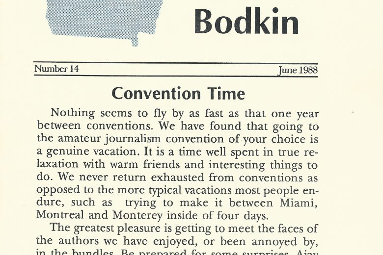 The BiG Bodkin - Number 14, June 1988 - Page 1