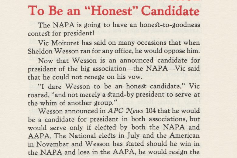 APC News - Number 105, April 1966 - Page 1