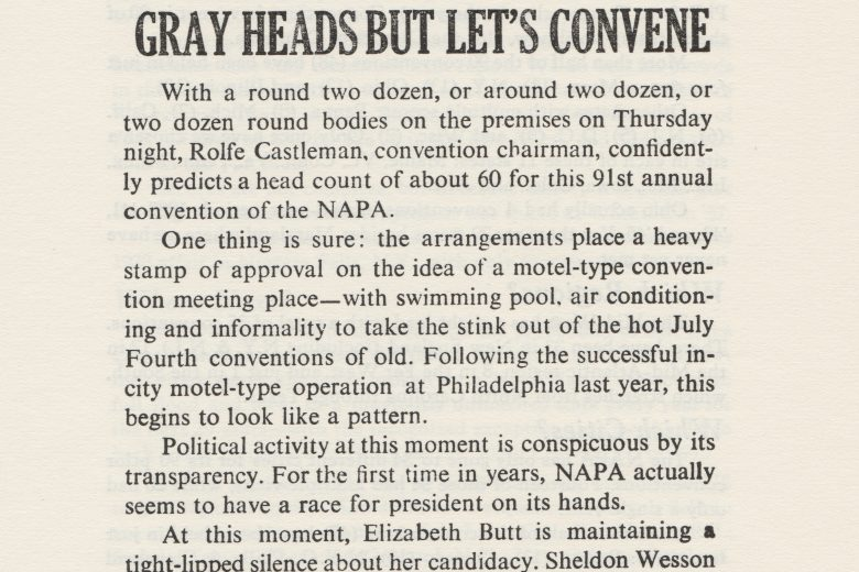 APC News - Number 106, June 1966 - Page 1