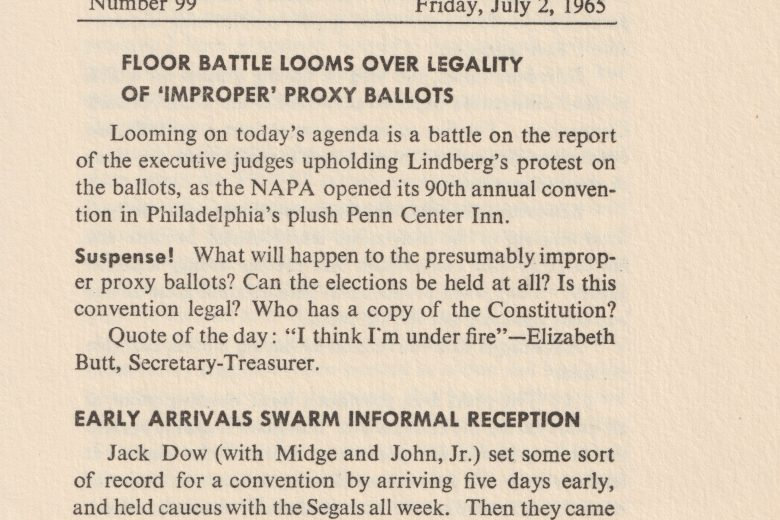 APC News - Number 99, July 1965 - Page 1
