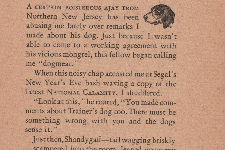 National Calamity - Number 5, March 1972 - Page 1