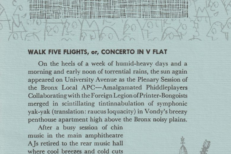 APC News - Number 78, July 1961 - Page 1
