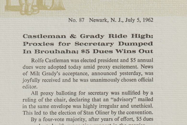 APC News - Number 87, July 1962 - Page 1