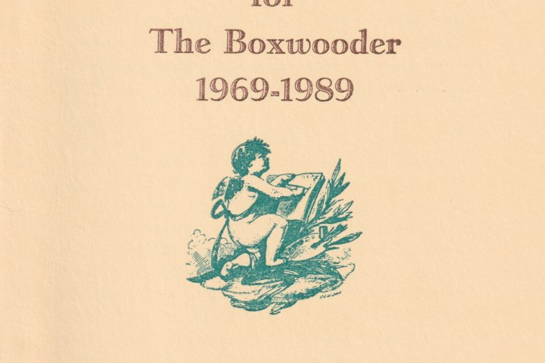 The Boxwooder - Number 240, July 1989 - Front Cover