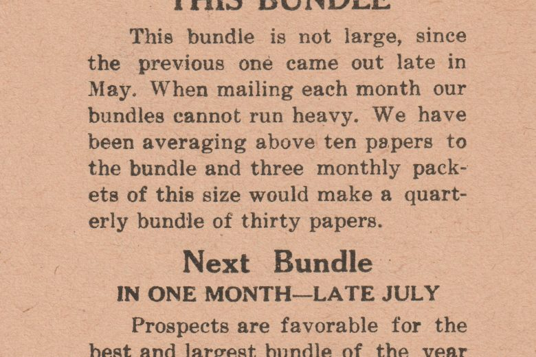 The Mailbox - June 1937 - Page 1