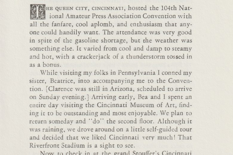 On The Prowell - Number 13, August 1979 - Page 1
