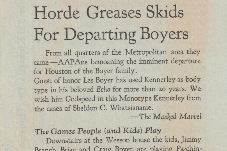 The Metropolitan Amateur - Number 20, July 1970 - Page 1