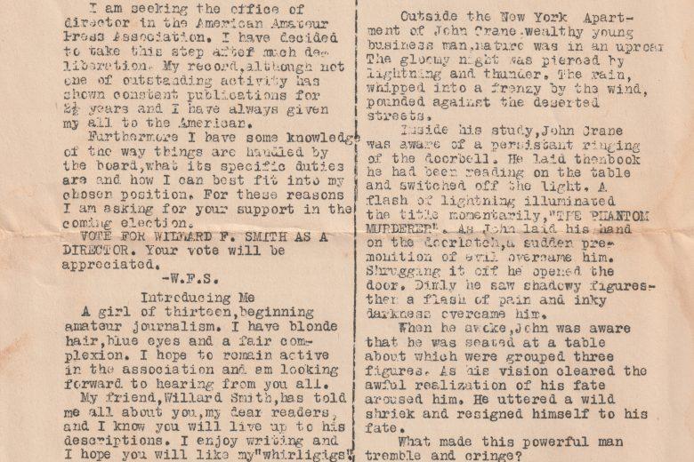 The Sparkplug - Volume 1, Number 1, September 1942 - Single Page